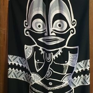 Spaghetti Strap Tahitian Sarong dress